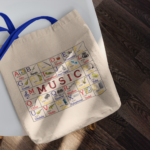 ABC Music Canvas Tote Bag