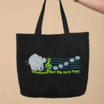 Elephants Get Big Dirty Feet Canvas Tote Bag