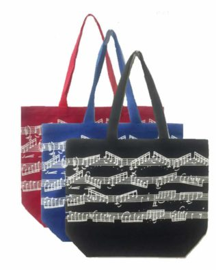 Music Page Canvas Tote Bag
