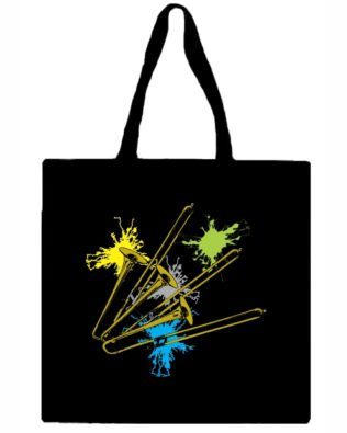 Trombone Canvas Tote Bag