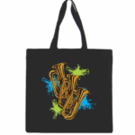 Tuba Canvas Tote Bag