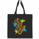 Tuba Canvas Tote Bag
