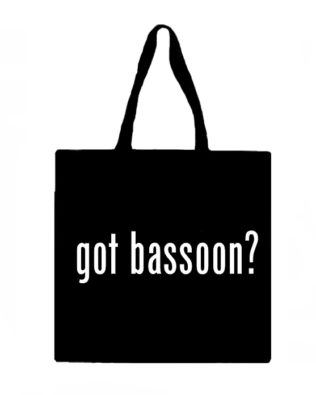Got Bassoon? Canvas Tote Bag