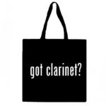 Got Clarinet? Canvas Tote Bag