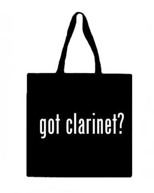 Got Clarinet? Canvas Tote Bag