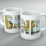 Band With Instruments Mug