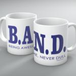 Being Awesome Band Mug