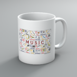 ABC Music Mug
