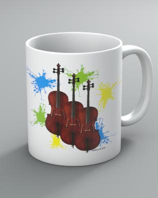 Neon Cello Mug