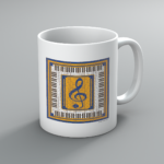 Clef and Keys Mug