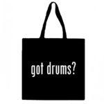 Got Drums? Canvas Tote Bag