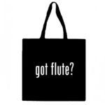 Got Flute? Canvas Tote Bag