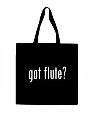 Got Flute? Canvas Tote Bag