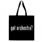 Got Orchestra? Canvas Tote Bag