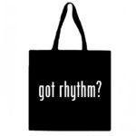 Got Rhythm? Canvas Tote Bag