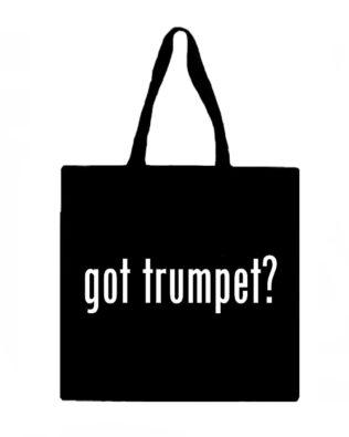 Got Trumpet? Canvas Tote Bag