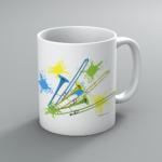 Neon Trombone Mug