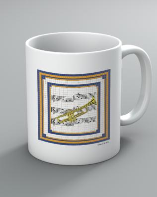 Trumpet Mug