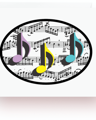 8th Notes and Music Note Cards