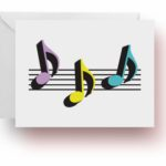 8th Notes Note Cards