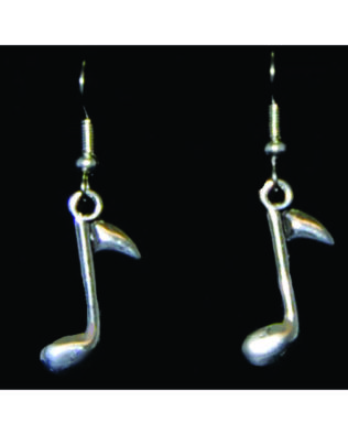 8th Note Earrings