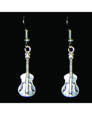 Acoustic Guitar Earrings