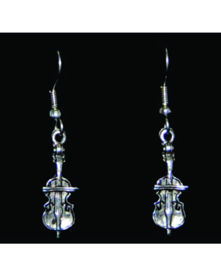 Cello Earrings