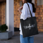 Treble Clef Tote Bag