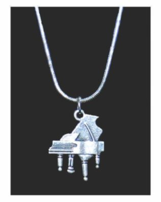 Grand Piano Necklace