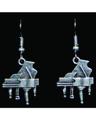 Grand Piano Earrings