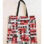 Jazz Cotton Print Tote Bag