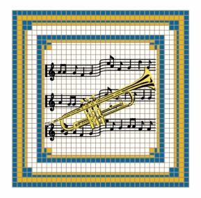 Trumpet Magnet