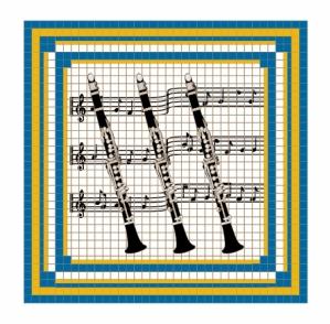 Clarinet Magnet