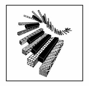 Doodled Keys Magnet