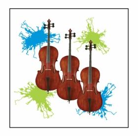 Neon Cellos Magnet