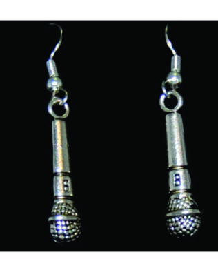 Microphone Earrings