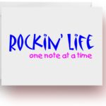 Rockin' Life Note Cards