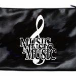 Music Leather-like Porfolio Bag