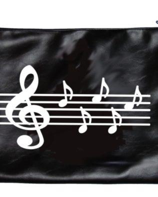 Staff & Notes Leather-like Porfolio Bag