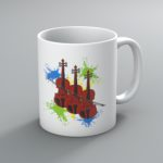 Neon Violins Mug