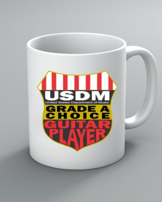 Grade A Choice Guitar Player Mug