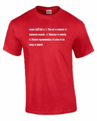 Music Definition T-shirt