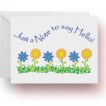 Music Garden Note Cards