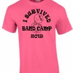 I Survived Band Camp T-shirt
