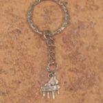 Grand Piano Key Ring
