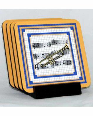 Trumpet Coaster Set