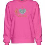 I Love Music Glitter Design Sweatshirt