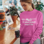 Music is What Feelings Sound Like Sweatshirt