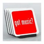 Got Music Coaster Set