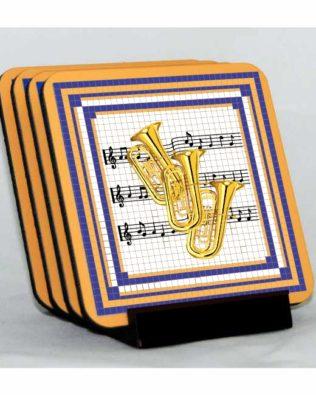 Tubas Coaster Set